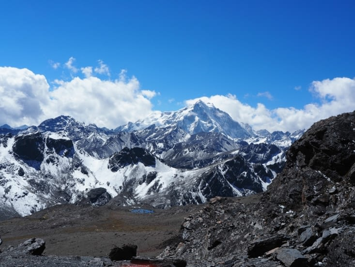 Vue sur le Huayna Potosi