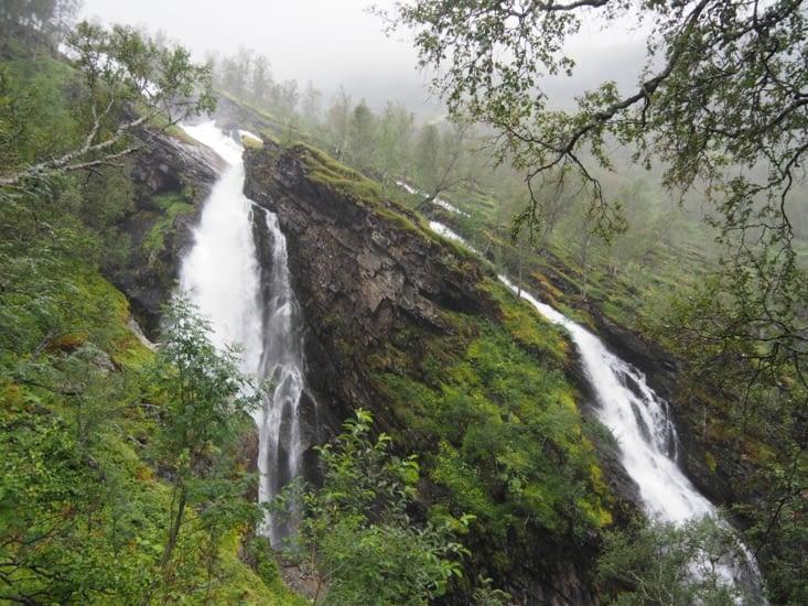Cascades rencontrées lors de notre randonnée pluvieuse