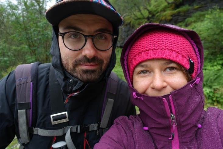 Une randonnée autour du Vatnahalsen malgré la pluie