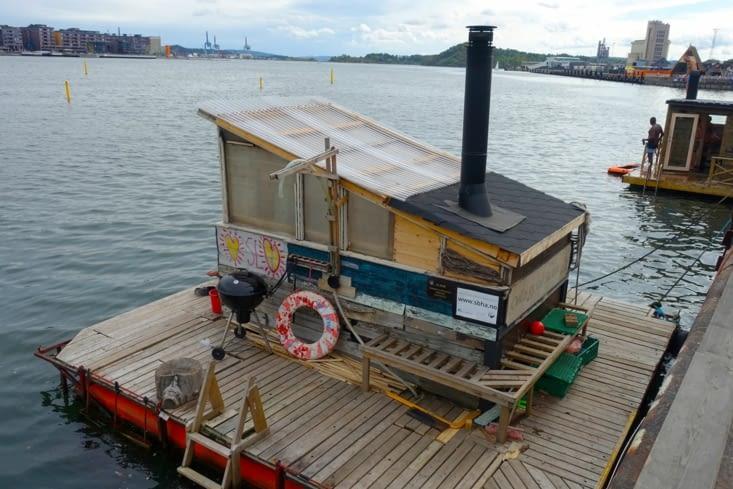 Des saunas flottants à Oslo