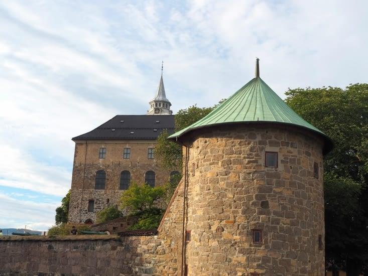 La forteresse Akershus d'Oslo