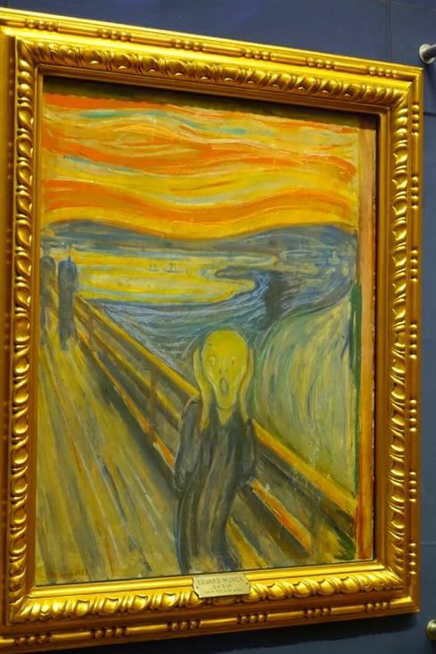 """""""Le Cri"""", le fameux, de Edvard Munch"""