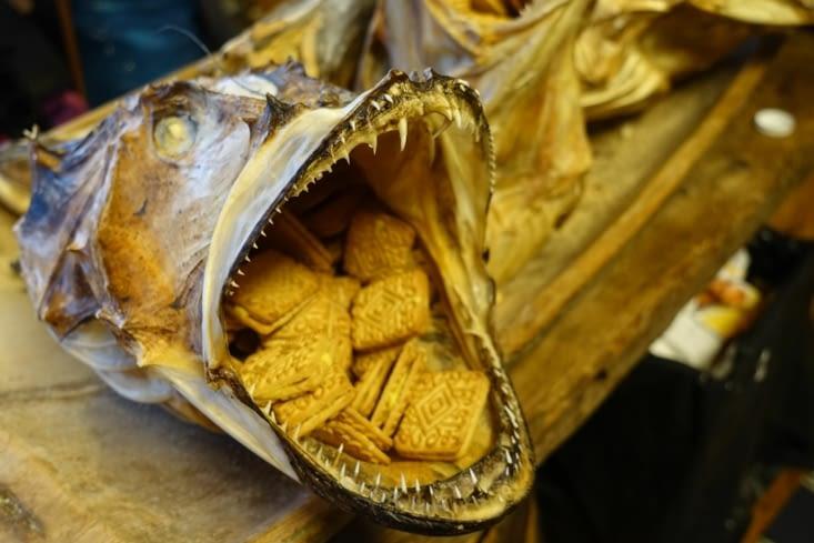 un petit biscuit du musée de la pêche à la morue de A ?