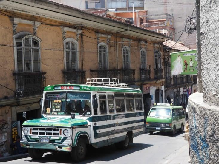 Les bus de la Paz