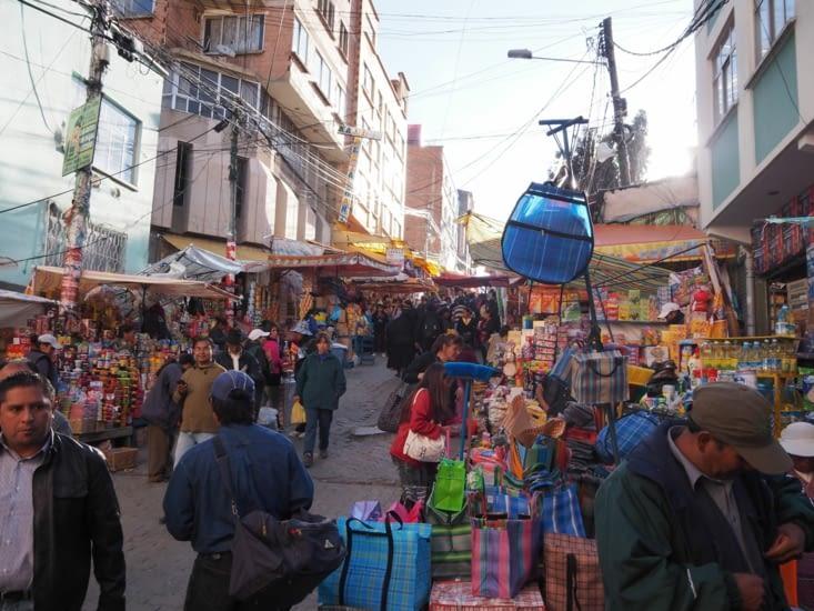 Les marchés de la Paz