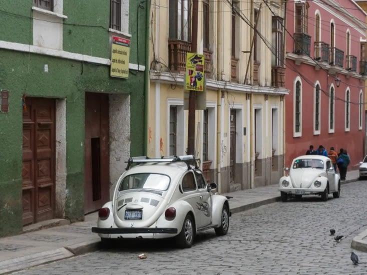 Une rue de la Paz