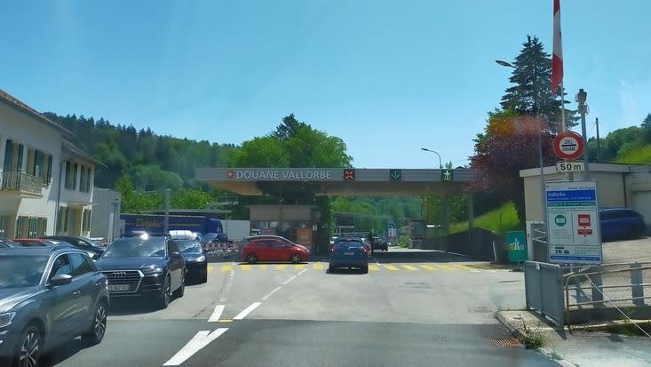 Passage en Suisse !