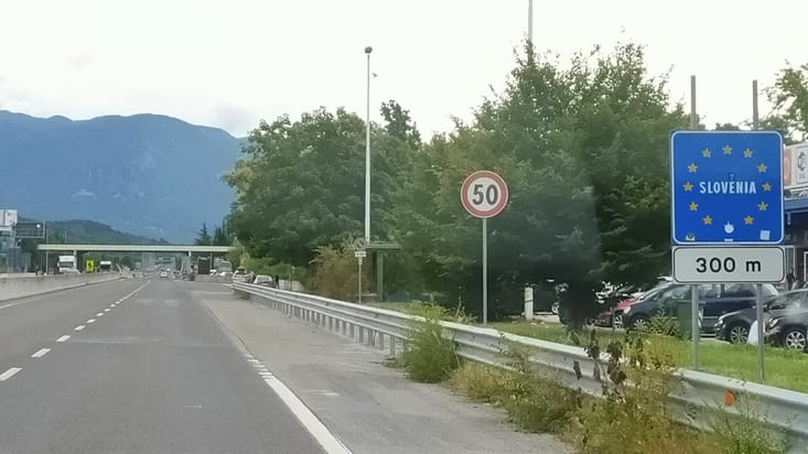 Passage en Slovénie !