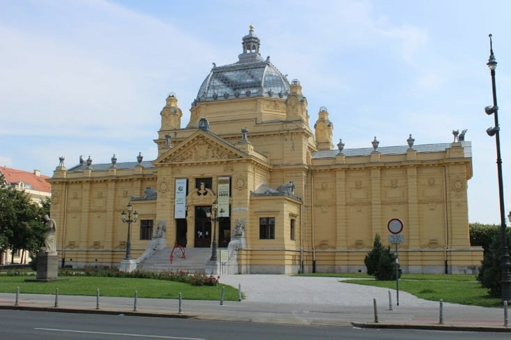 Pavillon des arts de Zagreb