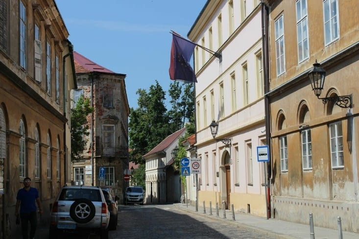Ville haute de Zagreb