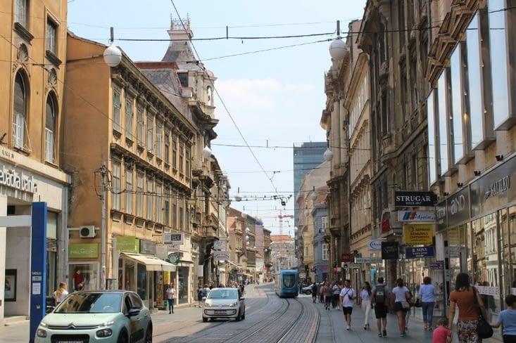 La rue Ilica