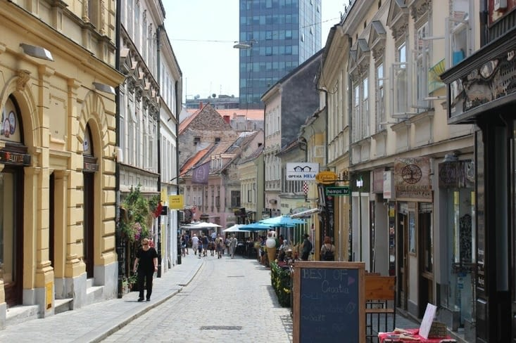 Rue de Zagreb
