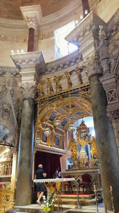 Intérieur de la cathédrale Saint Domnius