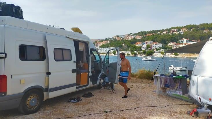 Le camping Rozac