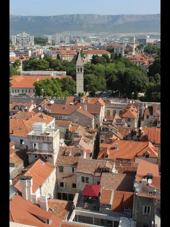 Vue depuis le clocher Saint Domnius