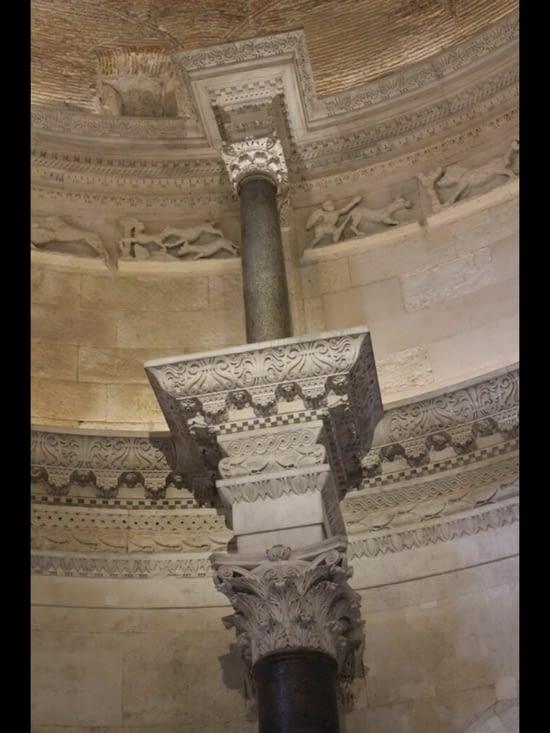 Détail des colonnes