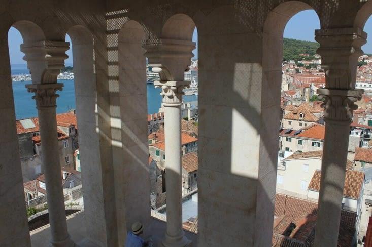 Intérieur du clocher Saint Domnius
