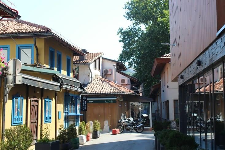 "Le quartier turc ""Bascarsija"""