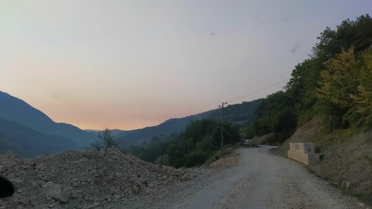 Notre première route en Bosnie !