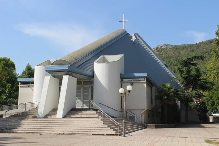 La cathédrale très moderne