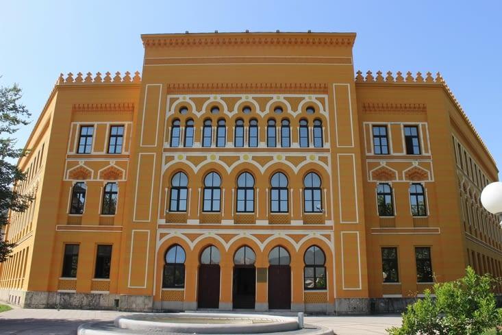 Le lycée de Mostar