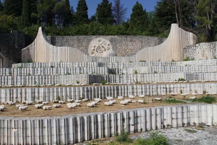 Le cimetière commémoratif des Partisans