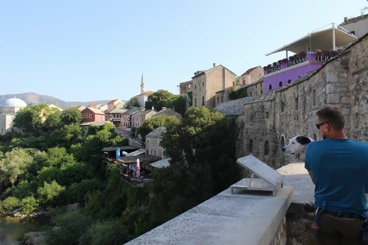 Passage sur le vieux pont
