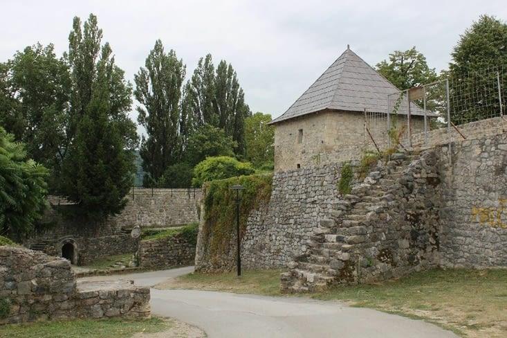 La forteresse de la ville
