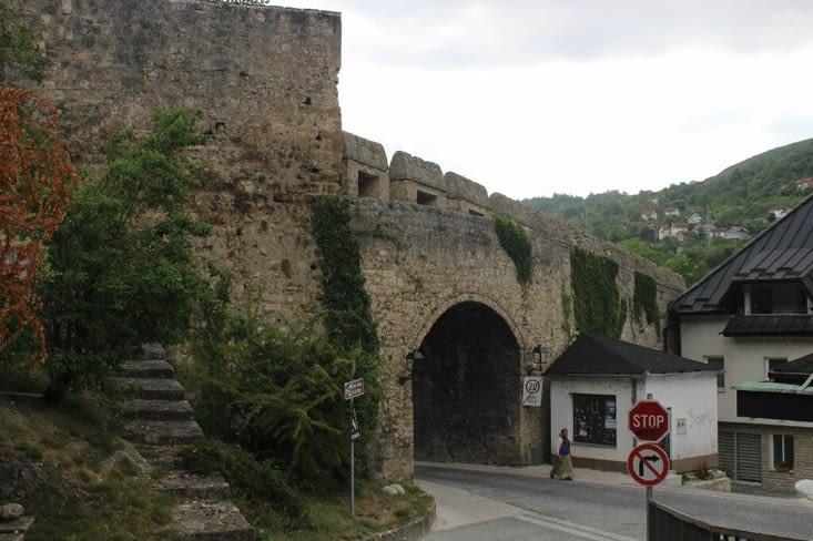 La porte d'entrée du centre ville ancien
