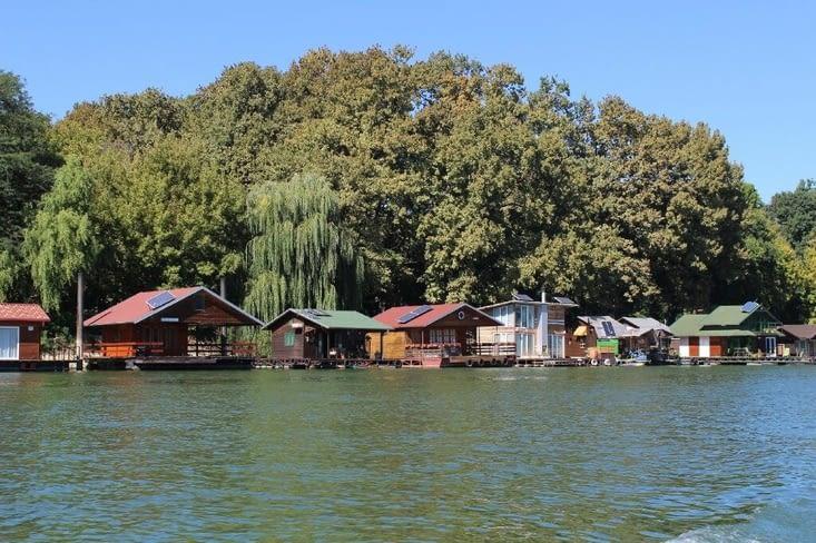 Les maisons flottantes