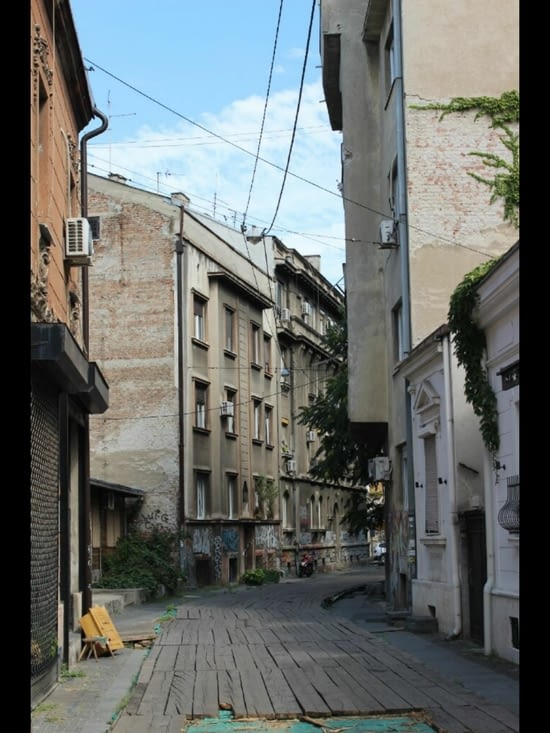 Les rues de Belgrade