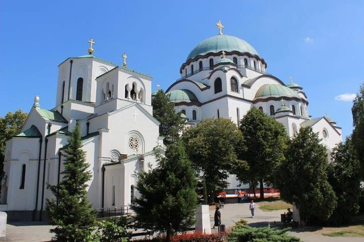 L'église Saint Sava