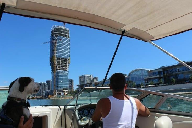 Petit tour en bateau