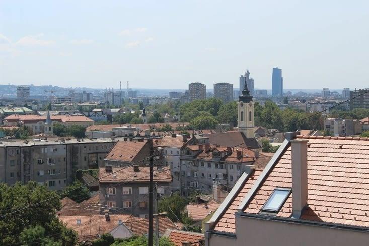 Vue depuis la tour