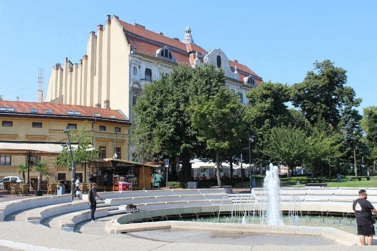 Rue du centre ville
