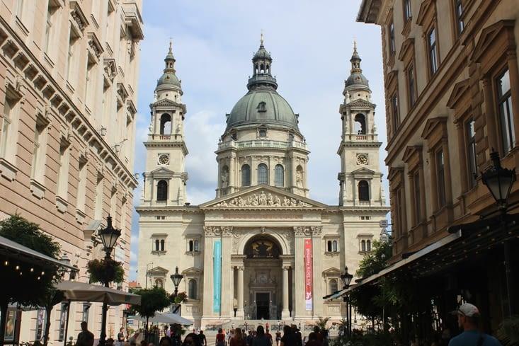 La basilique Saint Etienne de Pest