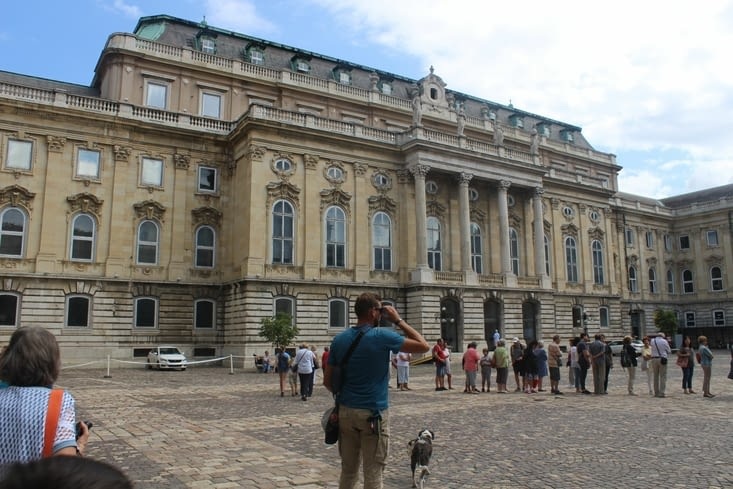 Le palais de Budavar