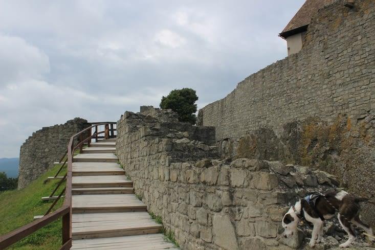 Le tour des remparts