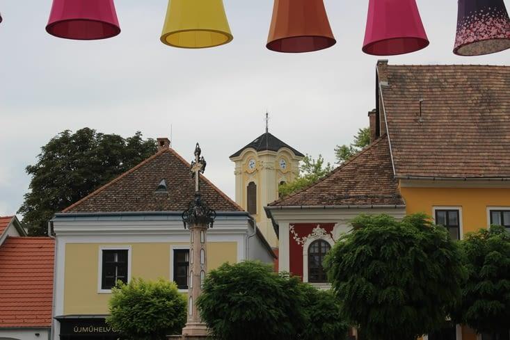 Façades du centre ancien