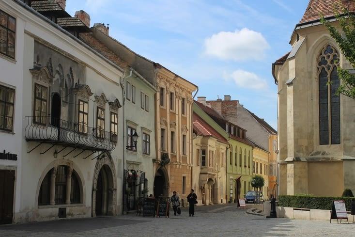 Rue du vieux centre