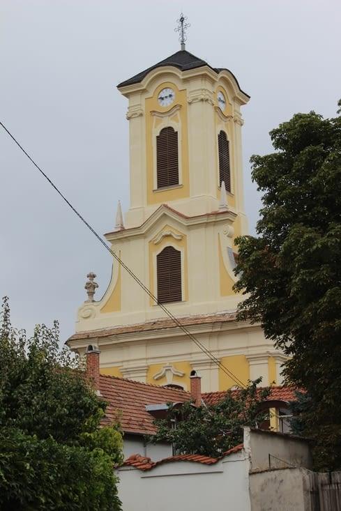 Une des nombreuses églises de la ville