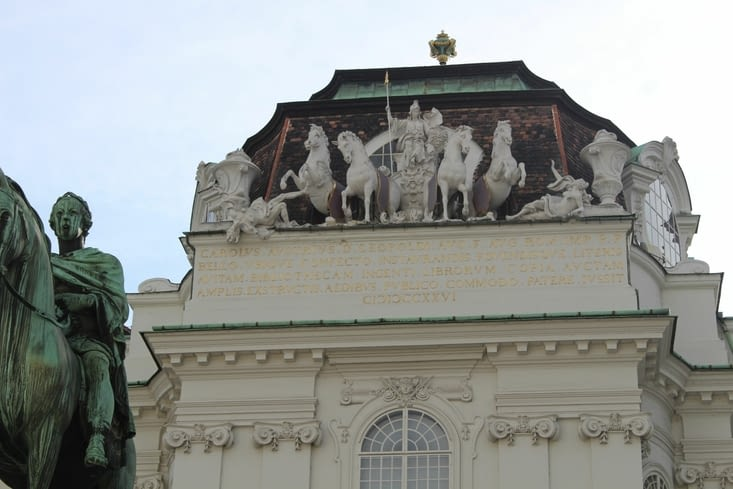 Détail du palais du Hofburg