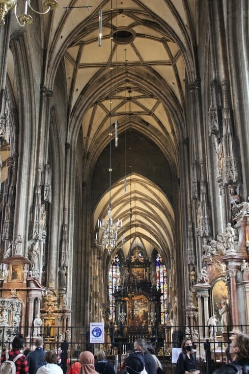 Interieur de la cathédrale