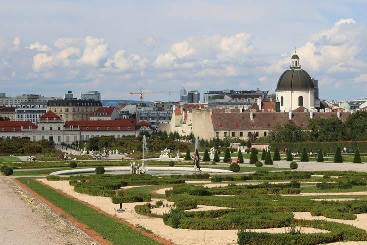 Jardins du Palais du Belvédère