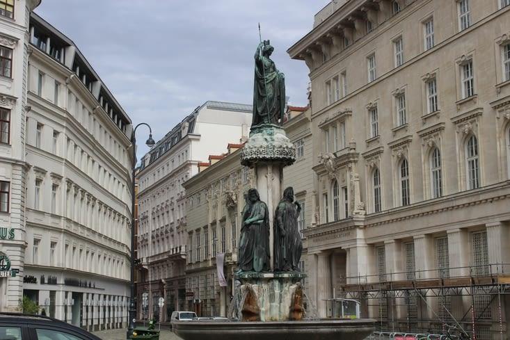 La fontaine d'Autriche