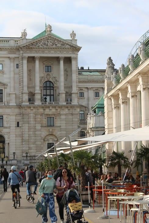 Le palais de Hofburg