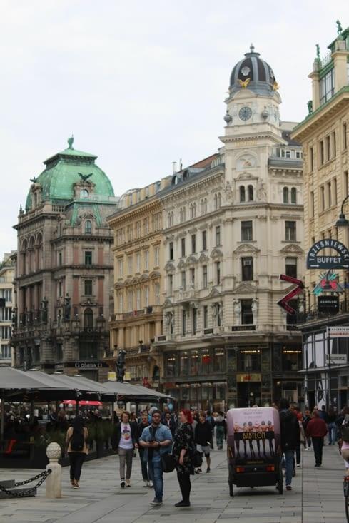 L'emblématique rue Graben