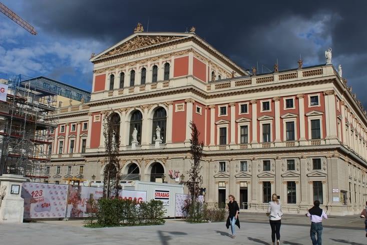 """Salle de concert """"Musikverein"""""""