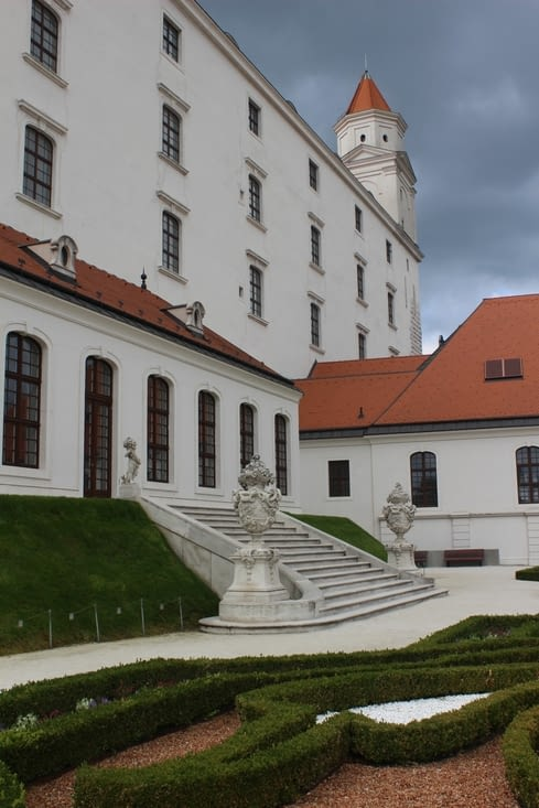 Le chateau de Bratislava