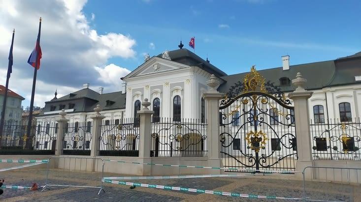 Le palais présidentiel